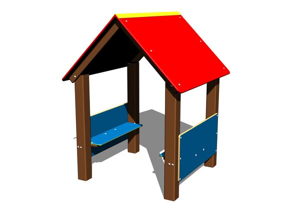 Playhouse DO101KW - brown