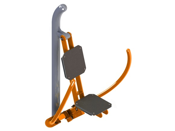 Fitness element FP-003SL  Butterfly workout machine (By Pressure) - orange