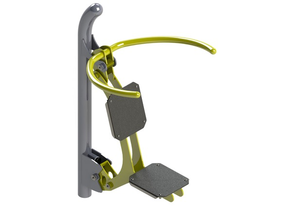 Fitness element FP-004SL Shoulder workout machine - lime