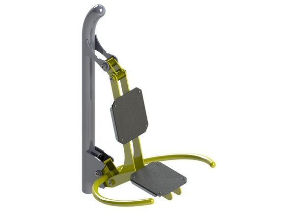Fitness element FP-005SL Chest workout - lime