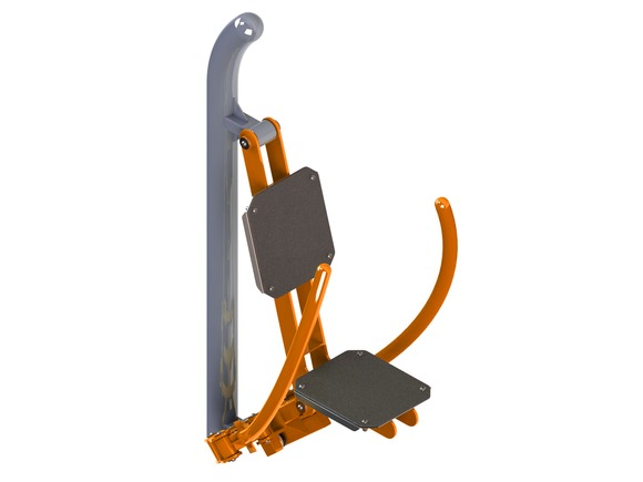 Fitness element FP-006SO Butterfly Workout Machine (By Pressure) - orange