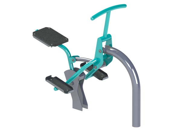 Fitness element FP-008ST Rider - turquoise