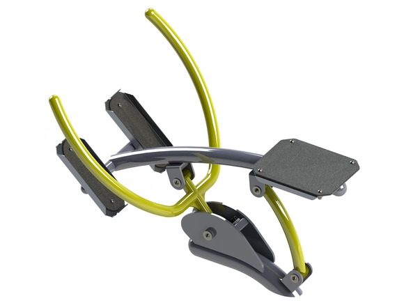 Fitness element FP-009SL Rowing - lime