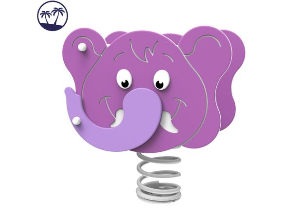 Spring rocker - ELEPHANT HP217K-Q (Coastal region)