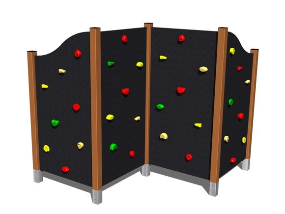 Climbing wall LS401KW - brown