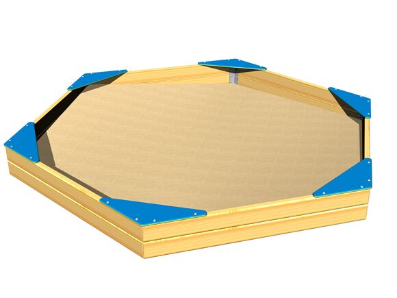 Seats for hexagonal sandpit SP002DB - blue