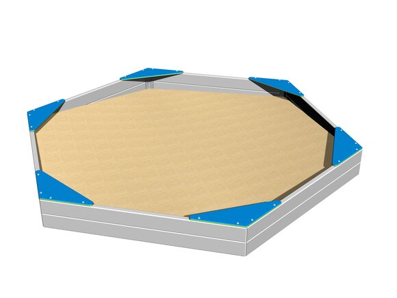 Seats for hexagonal sandpit SP002KB - blue