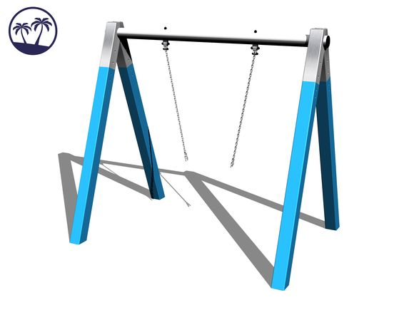 Chain swing RH110KB-Q - Blue (f.h. 1 m) (Coastal region)