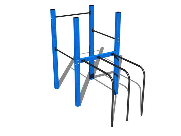 Street workout set WS017BD - blue