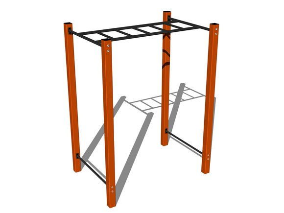 Street workout element WP008OD - orange