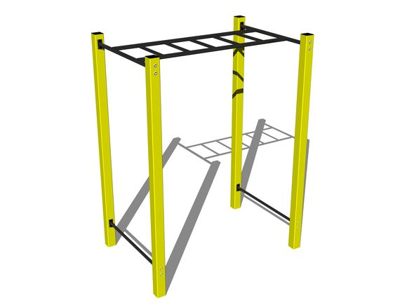 Street workout element WP008YD - yellow