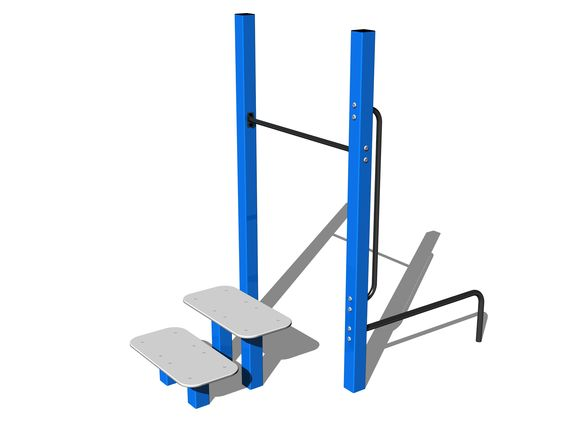 Street workout set WS006BD - blue